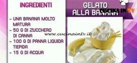 Detto Fatto - ricetta Banana splash al cioccolato di Paolo Griffa