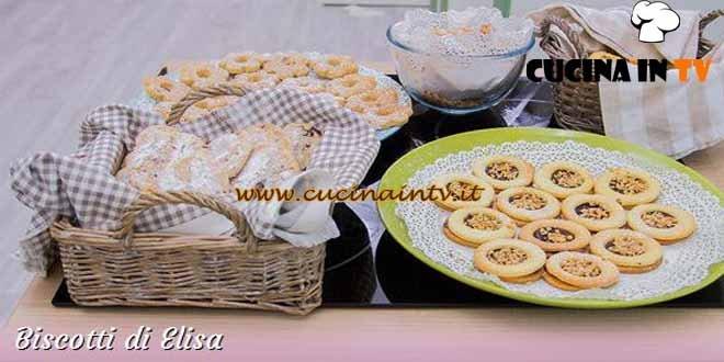 Bake Off Italia 3 - ricetta Ciambelline, amaretti e canestrelli di Elisa