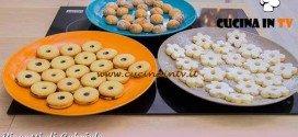 Bake Off Italia 3 - ricetta Amaretti, ciambelline e occhi di bue di Gabriele