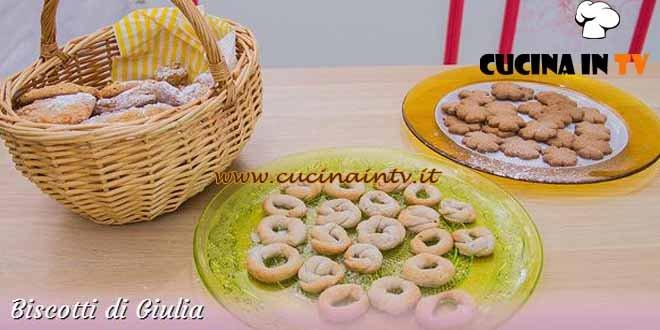 Bake Off Italia 3 - ricetta Amaretti, ciambelline e occhi di bue di Giulia