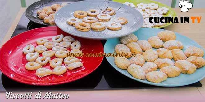 Bake Off Italia 3 - ricetta Ricciarelli, occhi di bue e ciambelline di Matteo
