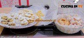 Bake Off Italia 3 - ricetta Ricciarelli, occhi di bue e ciambelline di Valeria