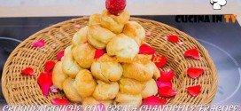 Bake Off Italia 3 - ricetta Croquembouche con crema chantilly e fragole di Valeria