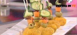La Prova del Cuoco - Cordon bleu di tacchino ricetta Natalia Cattelani