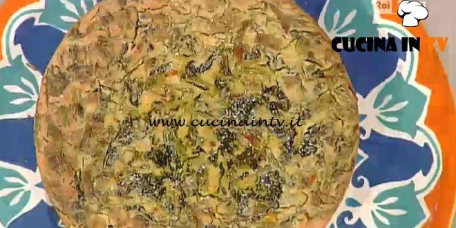 La Prova del Cuoco - Frittata senza uova alle erbe ricetta Marco Bianchi