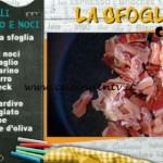 La Prova del Cuoco - Garganelli speck radicchio e noci ricetta Alessandra Spisni
