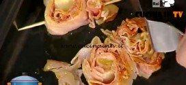 La Prova del Cuoco - Girelle di prosciutto cotto con salsa al pomodoro ricetta Hirohiko Shoda