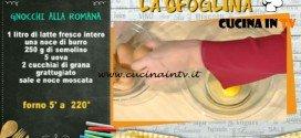 La Prova del Cuoco - Gnocchi alla romana ricetta Alessandra Spisni
