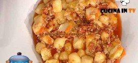 La Prova del Cuoco - ricetta Gnocchi alla salsiccia marchigiana