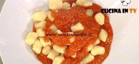 La Prova del Cuoco - Gnocchi con sugo di pomodoro ricetta Anna Moroni