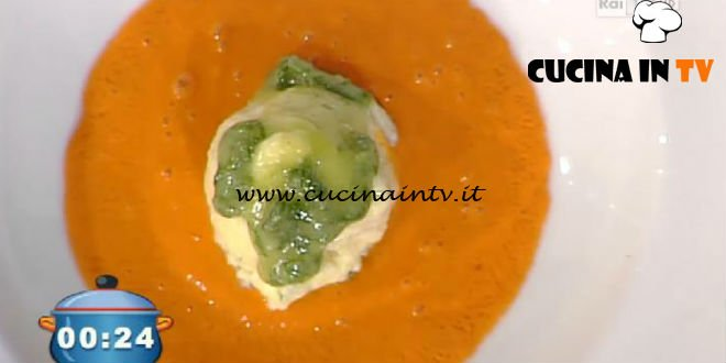 La Prova del Cuoco - Gnudi di ricotta e spinaci con cuore di mortadella ricetta Cesare Marretti