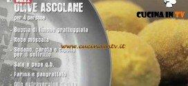 Unti e Bisunti - ricetta Olive ascolane di chef Rubio