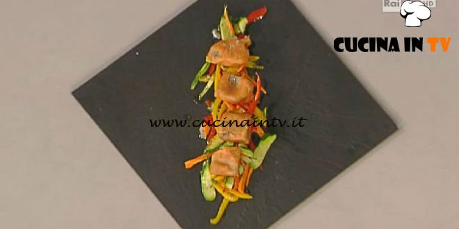 La Prova del Cuoco - Ossibuchi croccanti con verdure al timo ricetta Gilberto Rossi