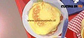 La Prova del Cuoco - Pancake alla crema e frutta ricetta Cesare Marretti