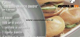 Unti e Bisunti - ricetta Panino Monaco di chef Rubio
