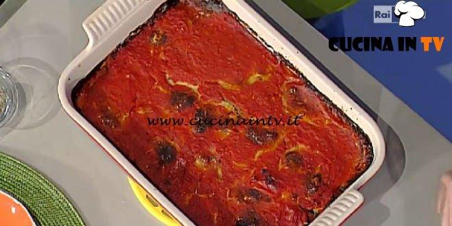 La Prova del Cuoco - Parmigiana di zucchine alla napoletana ricetta Marco Bianchi