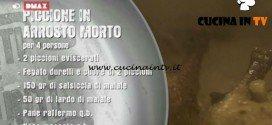 Unti e Bisunti - ricetta Piccione in arrosto morto di chef Rubio