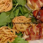 La Prova del Cuoco - Pollo goloso con spaghetti di patate ricetta Natalia Cattelani
