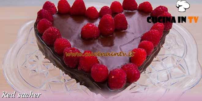 Bake Off Italia 3 - ricetta Red sacher di Ida