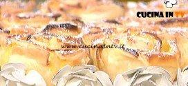 La Prova del Cuoco - Rose di sfoglia alle mele e crema pasticcera ricetta Anna Moroni