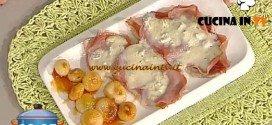 La Prova del Cuoco - ricetta Scaloppine allo speck e gorgonzola dolce