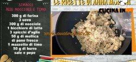 La Prova del Cuoco - Stracci alle nocciole e timo ricetta Anna Moroni