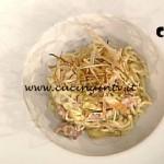 La Prova del Cuoco - Tagliolini integrali con salsa carbonara ricetta Markus Holzer