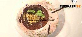 La Prova del Cuoco - Tenerina al cioccolato con salsa al cocco ricetta Ambra Romani