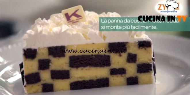 Pubblicità latte Zymil - ricetta Torta a scacchi di Ernst Knam