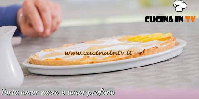 Bake Off Italia 3 - ricetta Torta amor sacro e amor profano di Ernst Knam