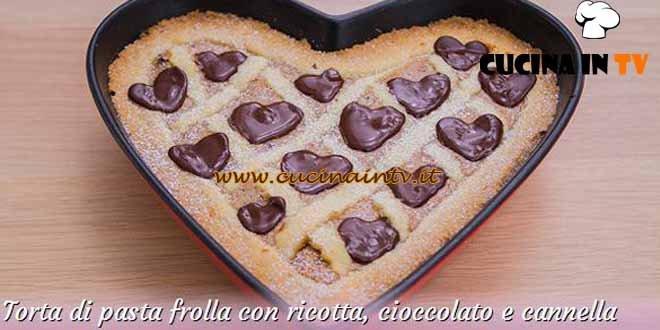 Bake Off Italia 3 - ricetta Torta di pasta frolla con ricotta cioccolato e cannella di Elisa