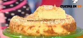 La Prova del Cuoco - Torta morbida di mele e mandorle ricetta Anna Moroni