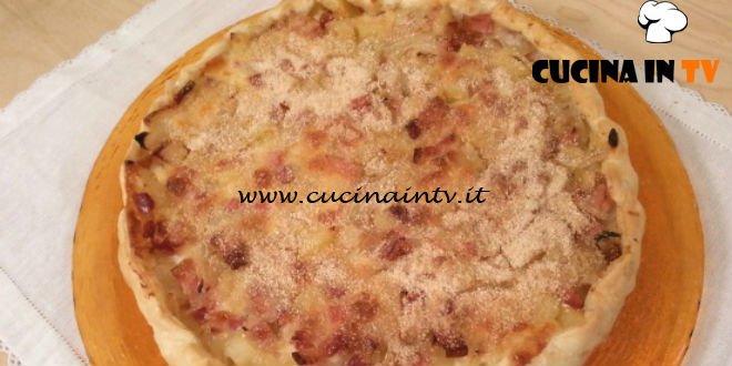 Cotto e mangiato - Torta salata pancetta e patate ricetta Tessa Gelisio
