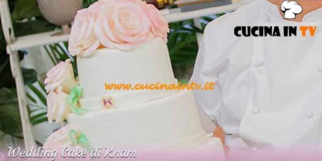 Bake Off Italia 3 - ricetta Wedding Cake di Ernst Knam
