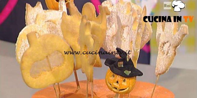 La Prova del Cuoco - Zucche e fantasmini lollipop ricetta Riccardo Facchini