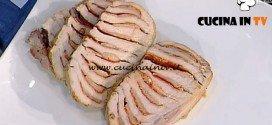 La Prova del Cuoco - Arrosto di maiale con salame e grana ricetta Anna Moroni