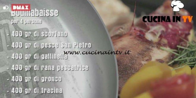 Unti e Bisunti - ricetta Bouillabaisse di chef Rubio