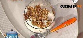 La Prova del Cuoco - ricetta Coppa al mascarpone marron glacé e cioccolato bianco