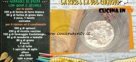 La Prova del Cuoco - Girasoli di pasta con uova e spinaci ricetta Sergio Barzetti