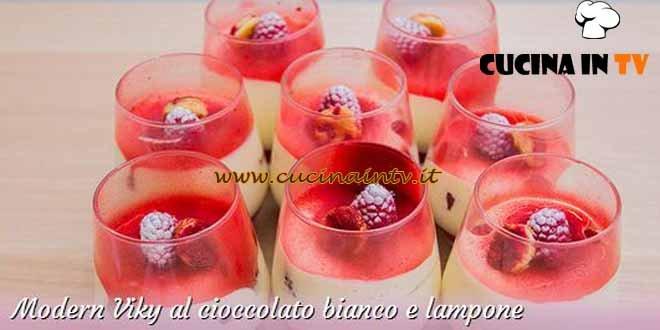 Bake Off Italia 3 - ricetta Modern Viky al cioccolato bianco e lampone di Ida