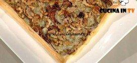 La Prova del Cuoco - Sfogliata con radicchio indivia e gorgonzola ricetta Anna Moroni