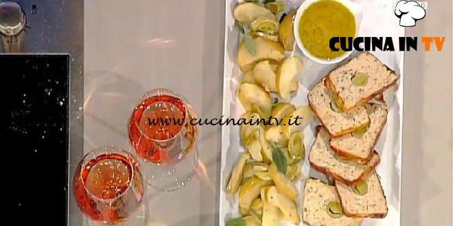 La Prova del Cuoco - Terrina di pollo con mela e porri ricetta Natalia Cattelani