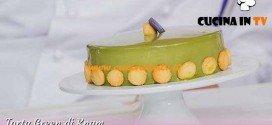 Bake Off Italia 3 - ricetta Torta Green di Ernst Knam