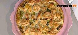 La Prova del Cuoco - Torta di involtini di verza con prosciutto e fontina ricetta Sergio Barzetti
