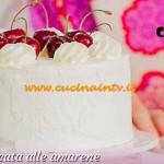 Bake Off Italia 3 - ricetta Torta stratificata alle amarene di Ernst Knam
