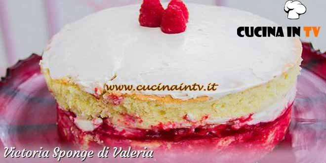Bake Off Italia 3 - ricetta Victoria Sponge di Valeria