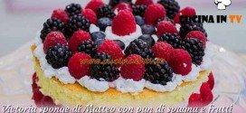 Bake Off Italia 3 - ricetta Victoria sponge con pan di spagna e frutti di bosco di Matteo