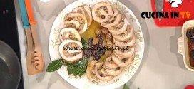 La Prova del Cuoco - Arrosto di maiale ripieno di frutta e spezie ricetta Natalia Cattelani