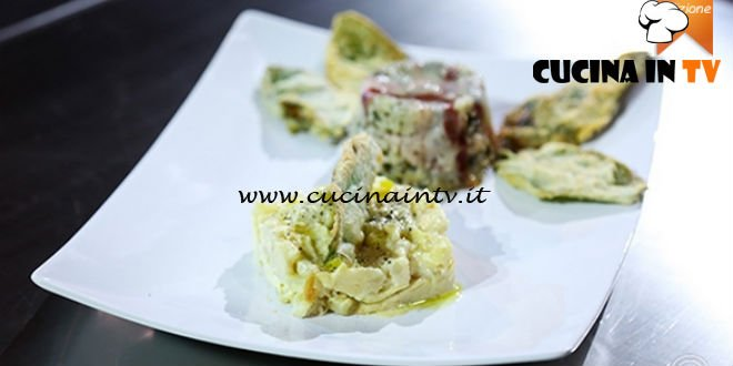 Masterchef 5 - ricetta Arrosto profumato alla salvia con tortino di patate di Ivana