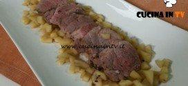 Cotto e mangiato - Filetto di maiale con dadolata di mele ricetta Tessa Gelisio
